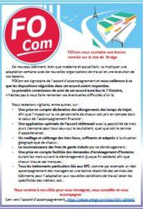 Livret d'accueil Bridge par le syndicat FOCom Orange